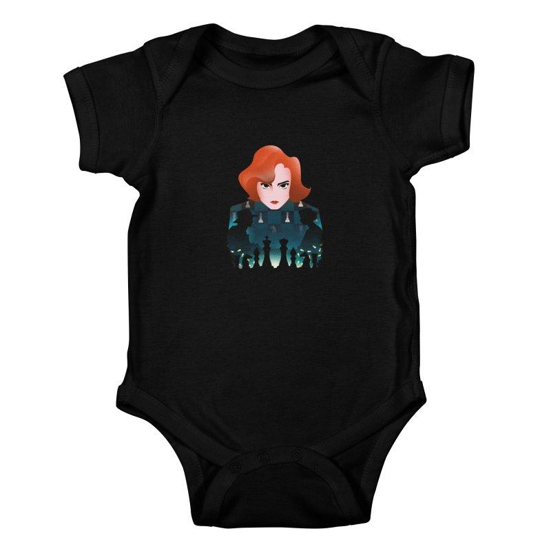 The Queen's Gambit Kids Baby Bodysuit by dandingeroz's Artist Shop