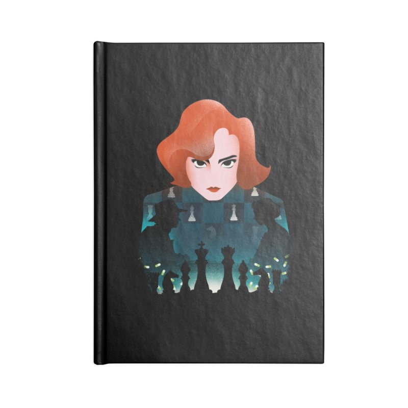 The Queen's Gambit Accessories Notebook by dandingeroz's Artist Shop