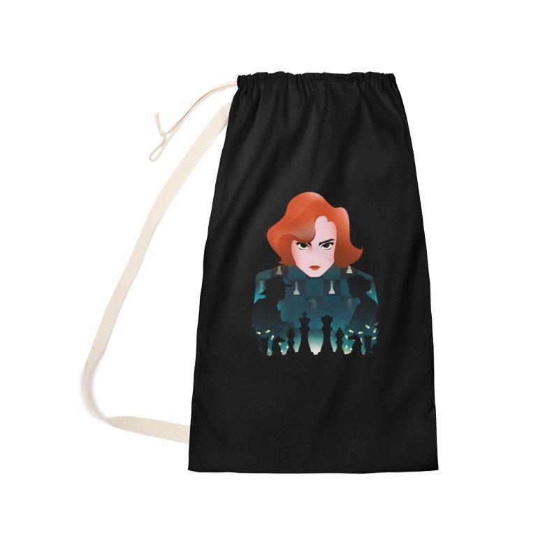 The Queen's Gambit Accessories Bag by dandingeroz's Artist Shop