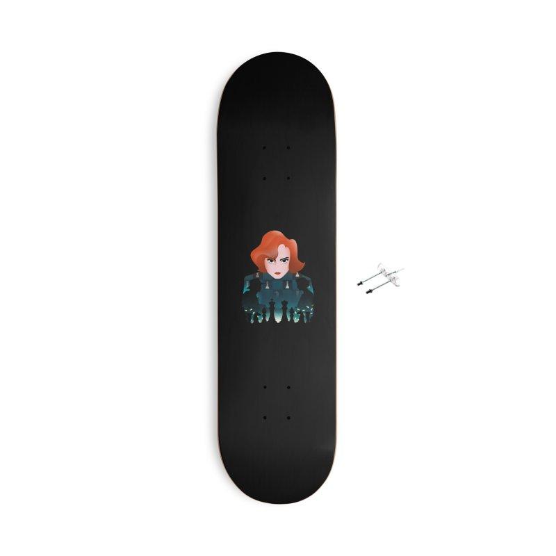 The Queen's Gambit Accessories Skateboard by dandingeroz's Artist Shop