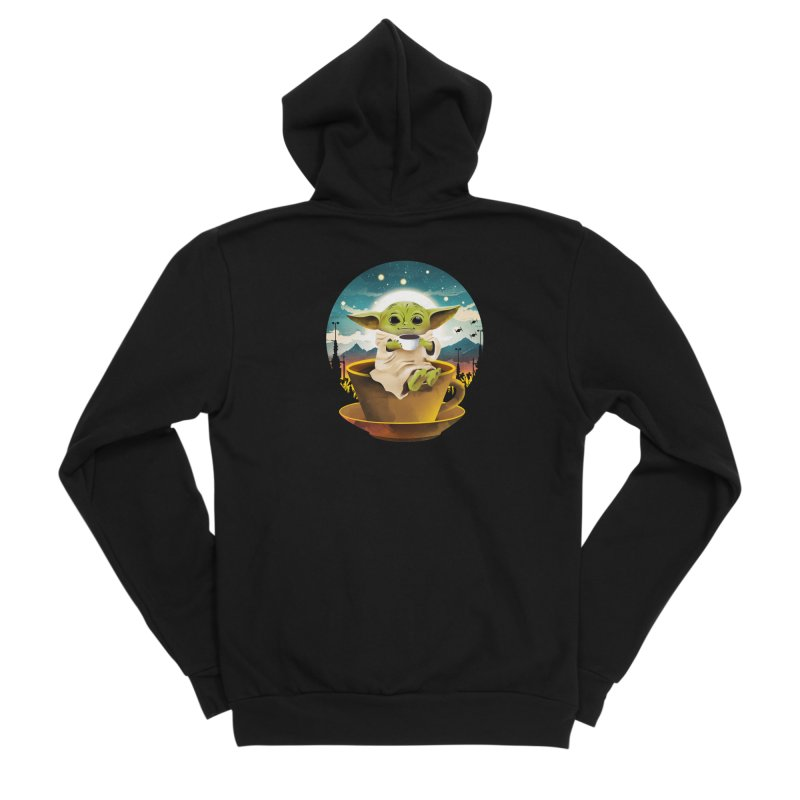 Coffee Child Women's Zip-Up Hoody by dandingeroz's Artist Shop