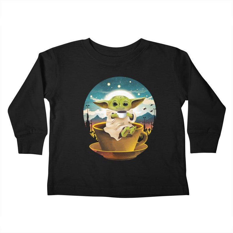 Coffee Child Kids Toddler Longsleeve T-Shirt by dandingeroz's Artist Shop