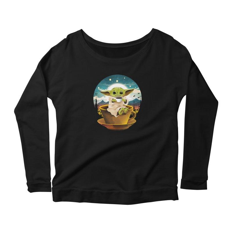 Coffee Child Women's Longsleeve T-Shirt by dandingeroz's Artist Shop