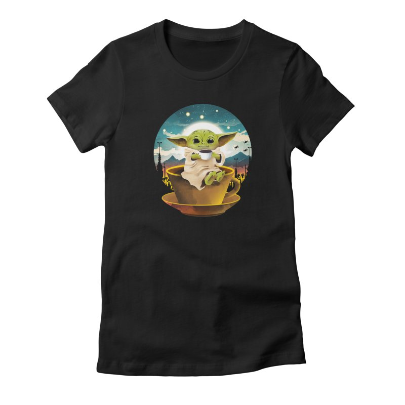 Coffee Child Women's T-Shirt by dandingeroz's Artist Shop