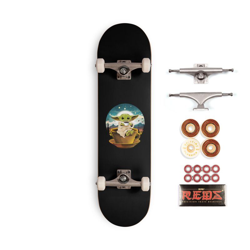 Coffee Child Accessories Skateboard by dandingeroz's Artist Shop