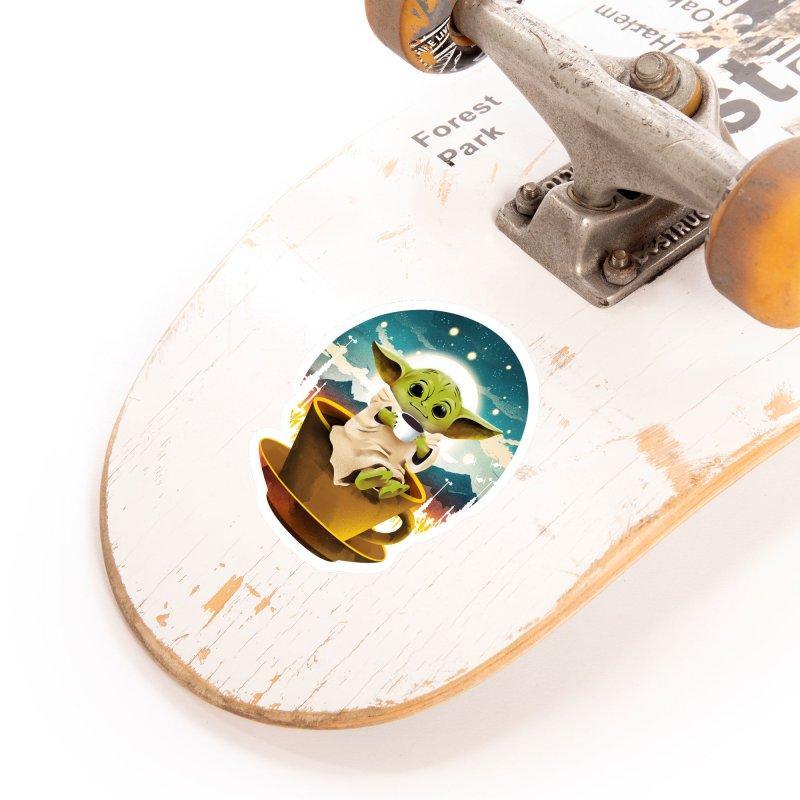 Coffee Child Accessories Sticker by dandingeroz's Artist Shop