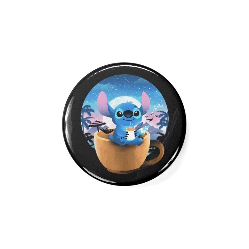 Hawaiian Coffee Accessories Button by dandingeroz's Artist Shop