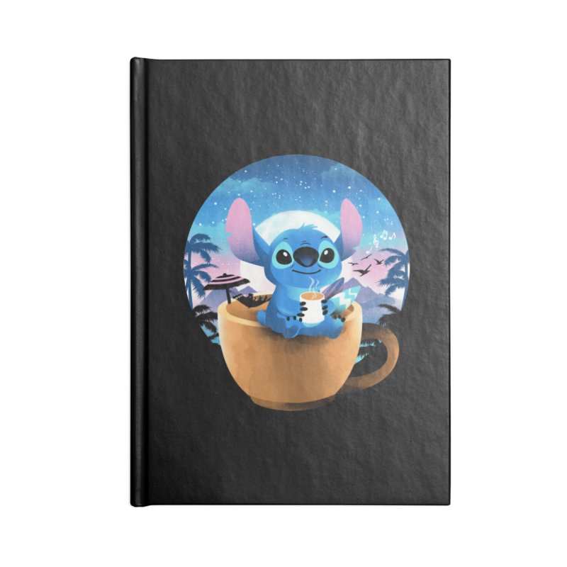 Hawaiian Coffee Accessories Notebook by dandingeroz's Artist Shop