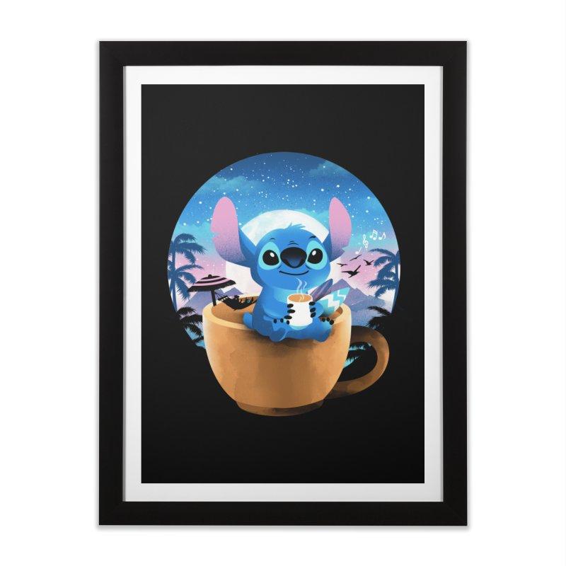Hawaiian Coffee Home Framed Fine Art Print by dandingeroz's Artist Shop