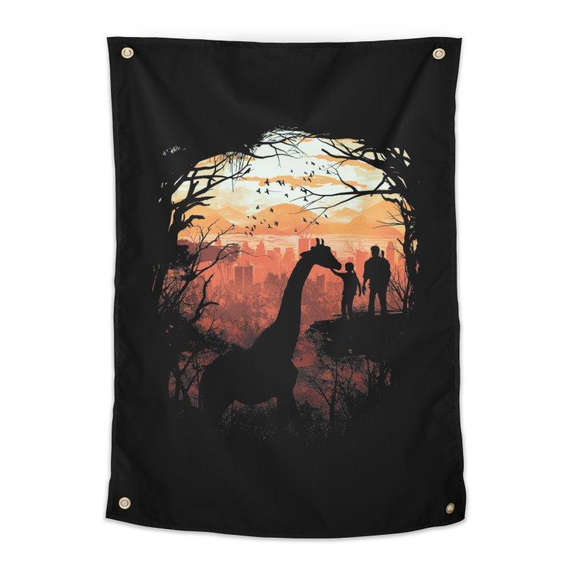 The Last Sunset Home Tapestry by dandingeroz's Artist Shop