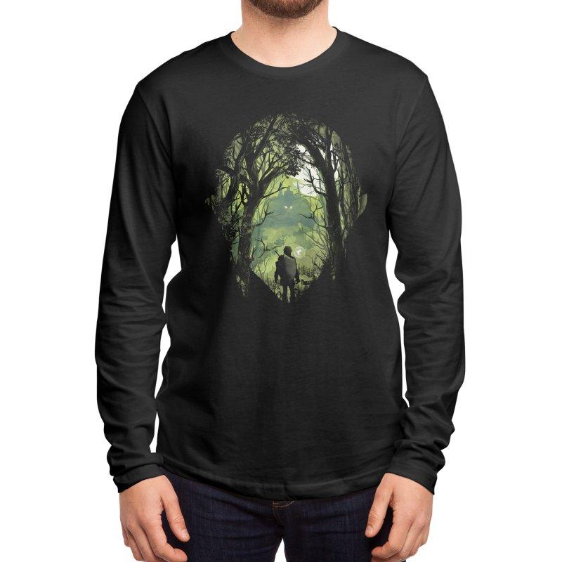 It's Dangerous to go Alone Men's Longsleeve T-Shirt by dandingeroz's Artist Shop