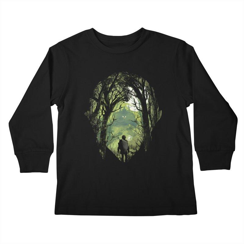 It's Dangerous to go Alone Kids Longsleeve T-Shirt by dandingeroz's Artist Shop