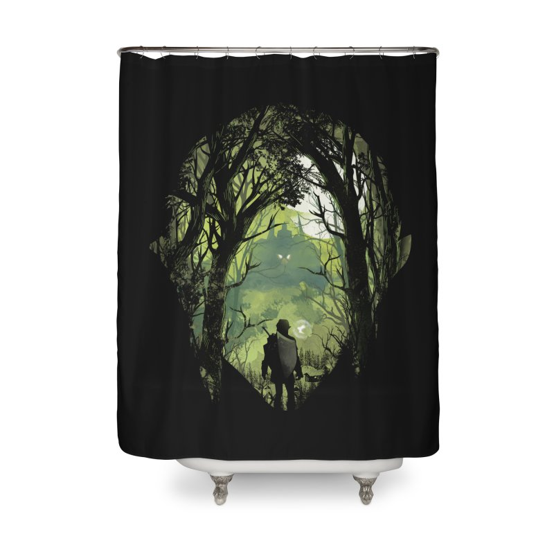 It's Dangerous to go Alone Home Shower Curtain by dandingeroz's Artist Shop