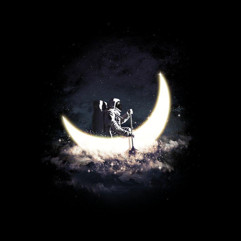 Moon Sailing Men's T-Shirt by dandingeroz's Artist Shop