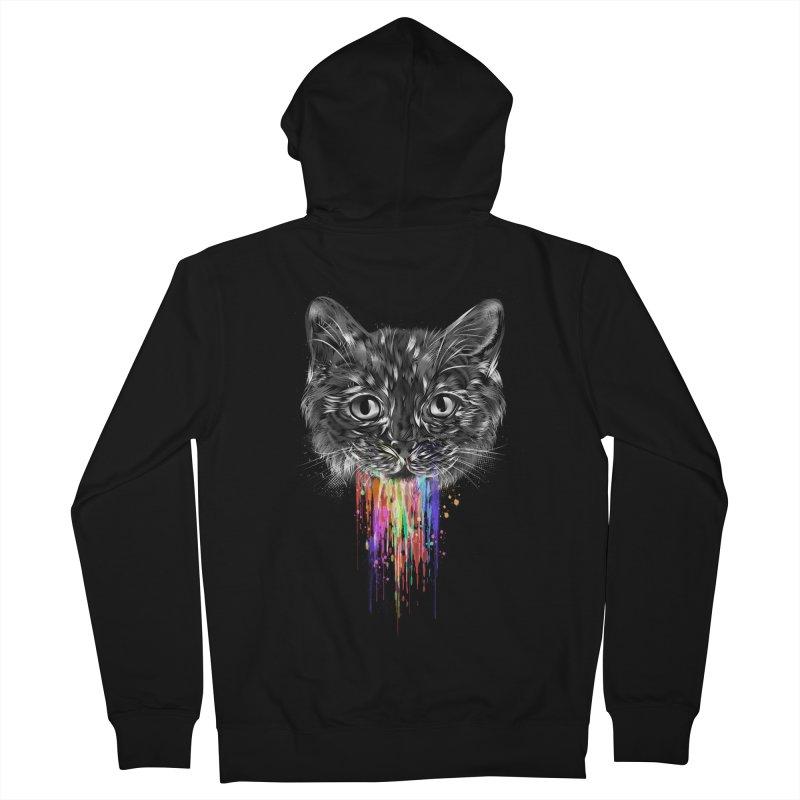 Wild Kitten Women's Zip-Up Hoody by dandingeroz's Artist Shop