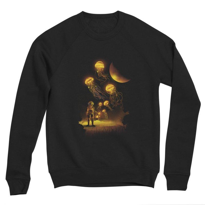 Deep Space Diver Men's Sweatshirt by dandingeroz's Artist Shop