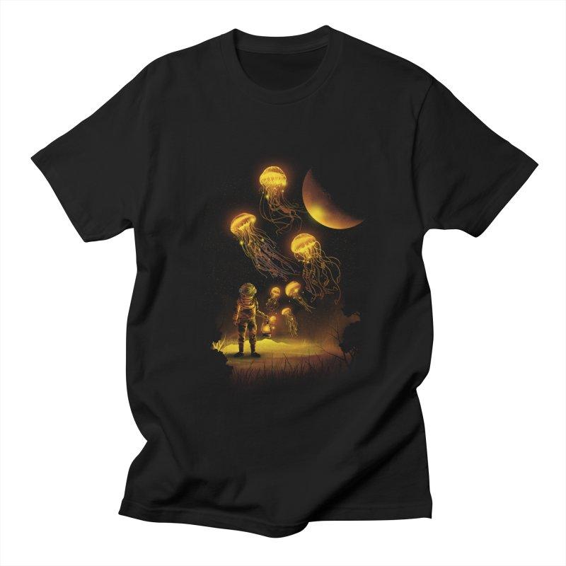 Deep Space Diver Men's T-Shirt by dandingeroz's Artist Shop