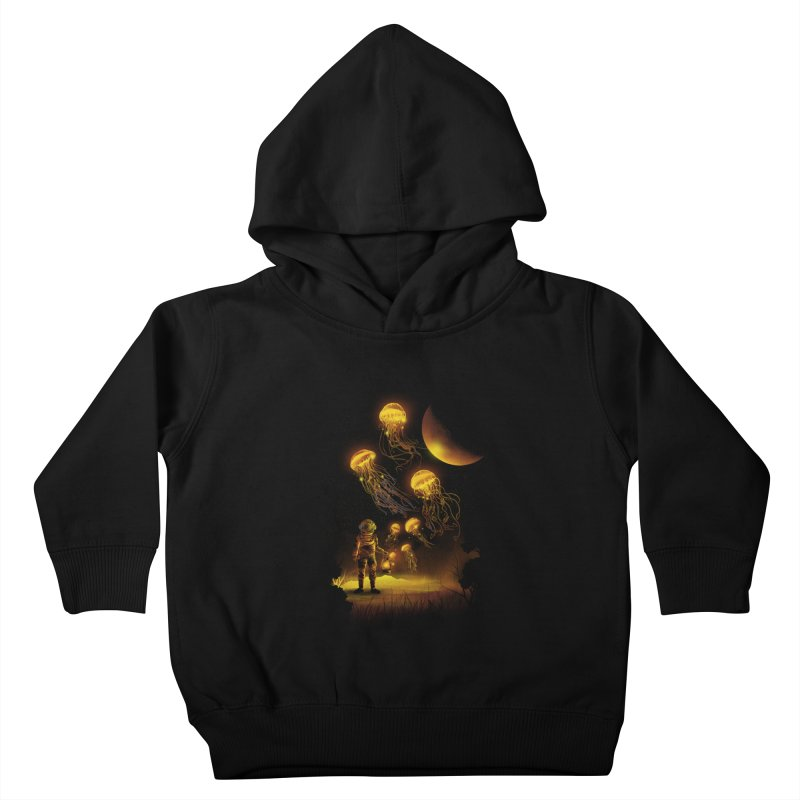 Deep Space Diver Kids Toddler Pullover Hoody by dandingeroz's Artist Shop