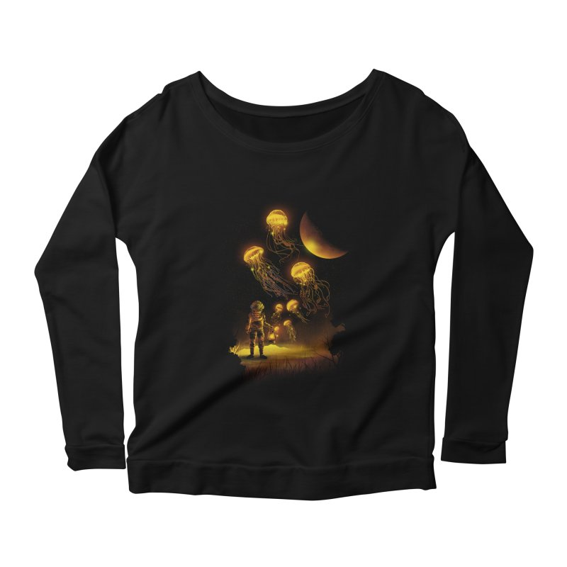 Deep Space Diver Women's Longsleeve T-Shirt by dandingeroz's Artist Shop