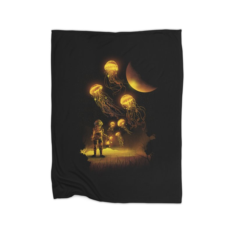 Deep Space Diver Home Blanket by dandingeroz's Artist Shop