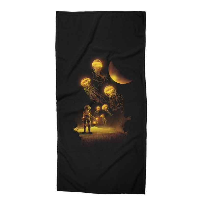 Deep Space Diver Accessories Beach Towel by dandingeroz's Artist Shop