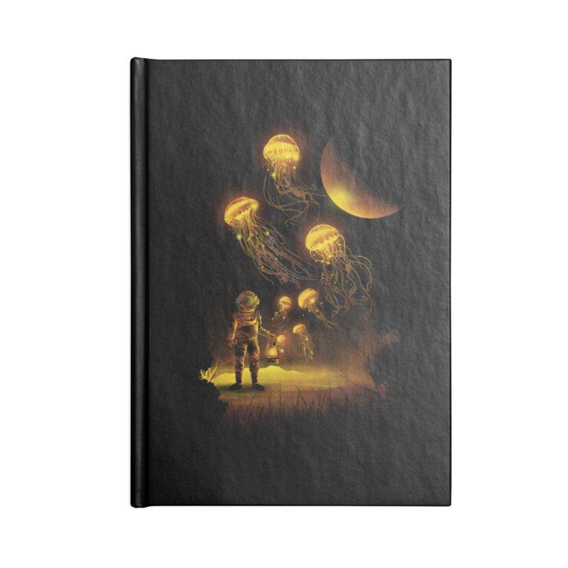 Deep Space Diver Accessories Notebook by dandingeroz's Artist Shop