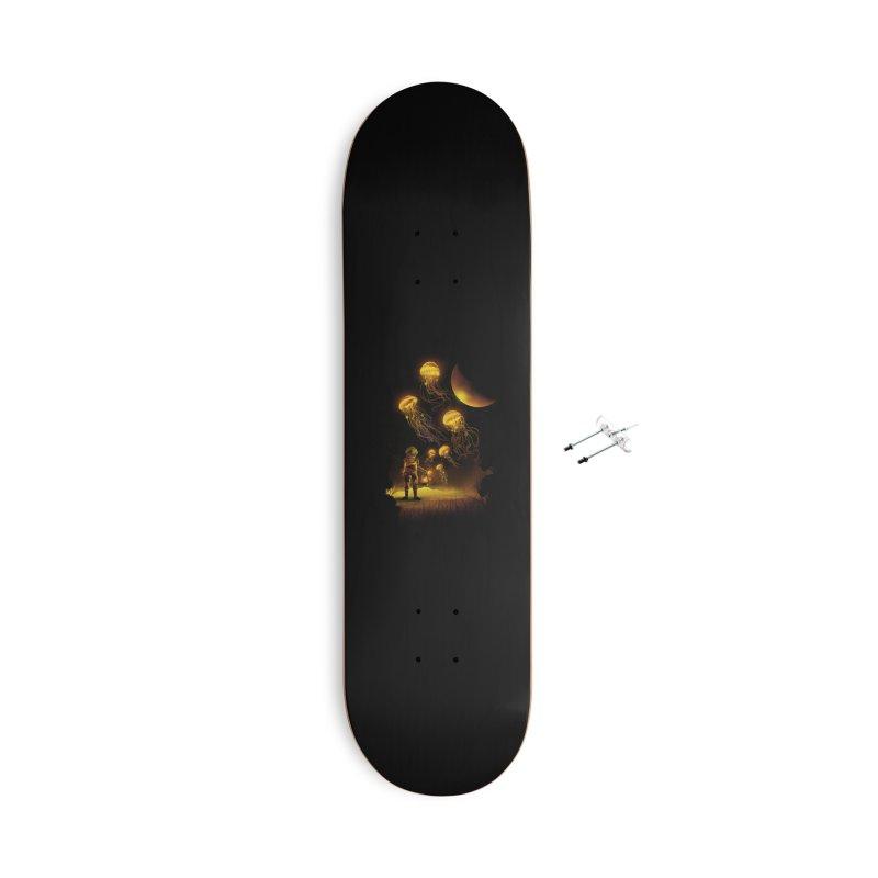 Deep Space Diver Accessories Skateboard by dandingeroz's Artist Shop