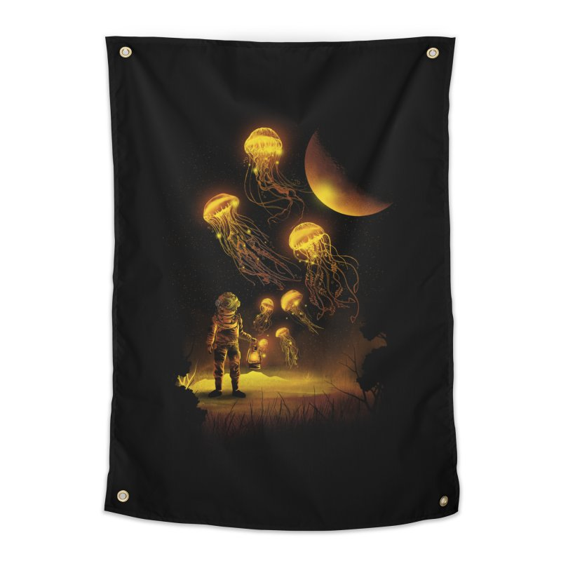 Deep Space Diver Home Tapestry by dandingeroz's Artist Shop