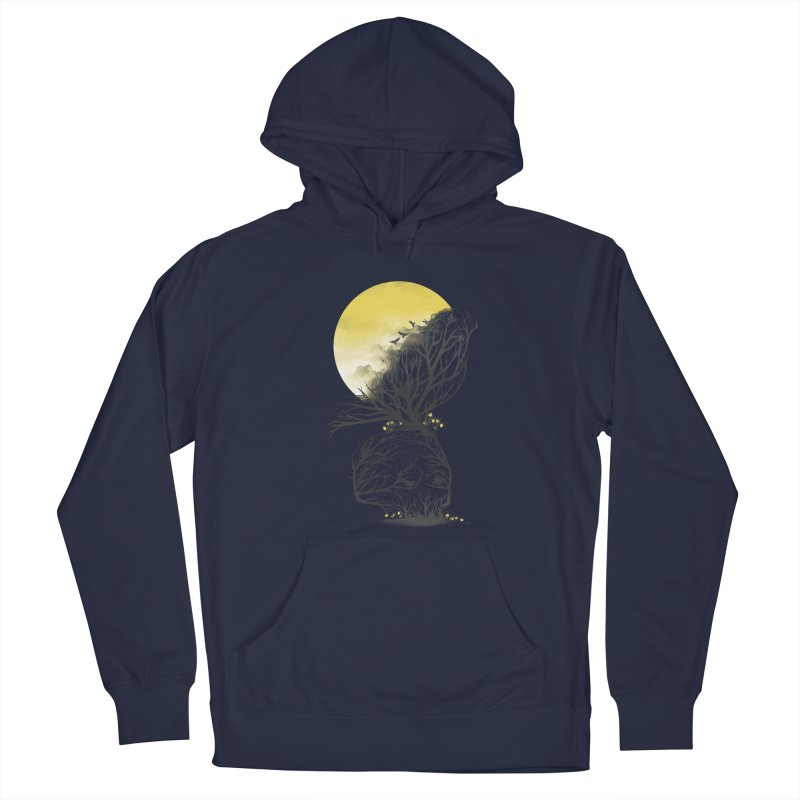 Time Will Come Men's Pullover Hoody by dandingeroz's Artist Shop