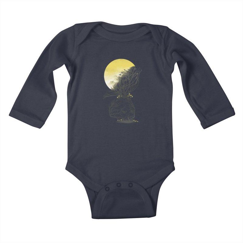 Time Will Come Kids Baby Longsleeve Bodysuit by dandingeroz's Artist Shop