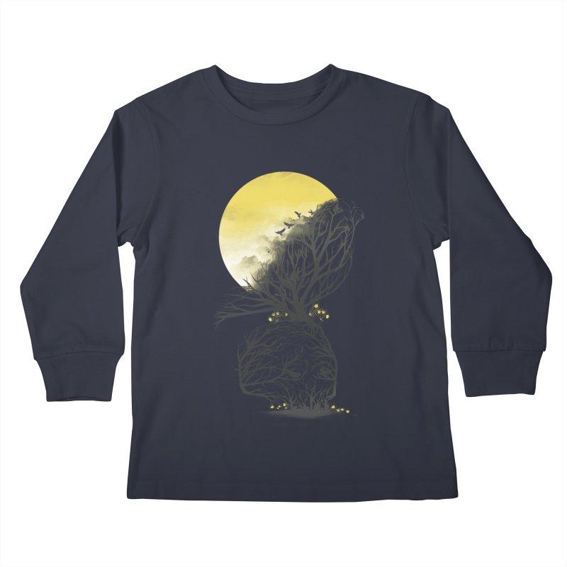 Time Will Come Kids Longsleeve T-Shirt by dandingeroz's Artist Shop