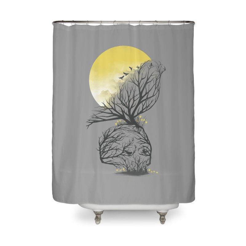 Time Will Come Home Shower Curtain by dandingeroz's Artist Shop