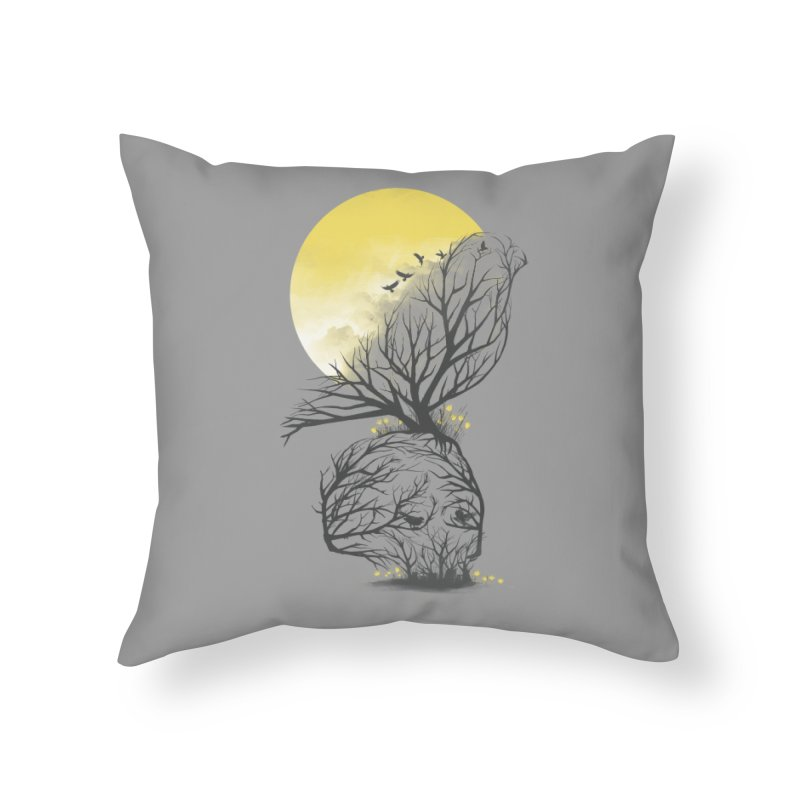 Time Will Come Home Throw Pillow by dandingeroz's Artist Shop