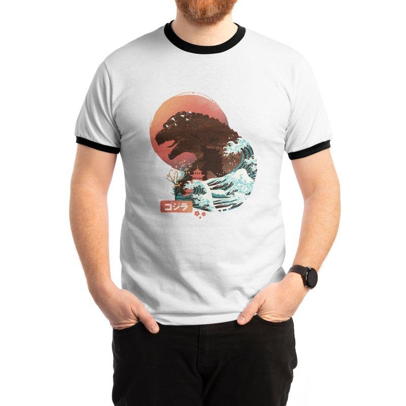 Kaiju UKiyo E Men's T-Shirt by dandingeroz's Artist Shop
