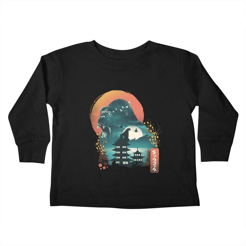 Edo King kong Kids Toddler Longsleeve T-Shirt by dandingeroz's Artist Shop