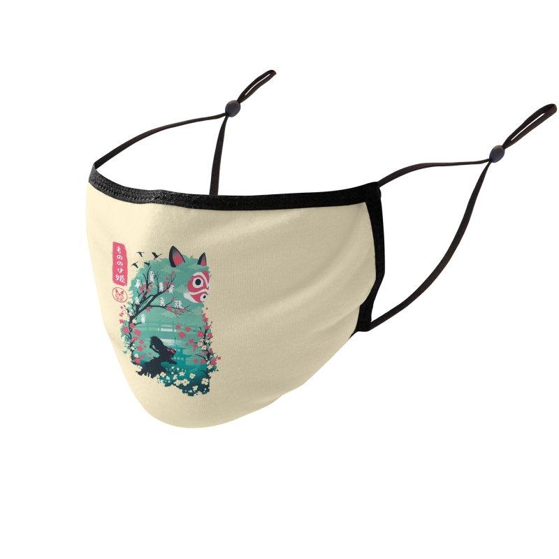 Ukiyo e Princess Accessories Face Mask by dandingeroz's Artist Shop