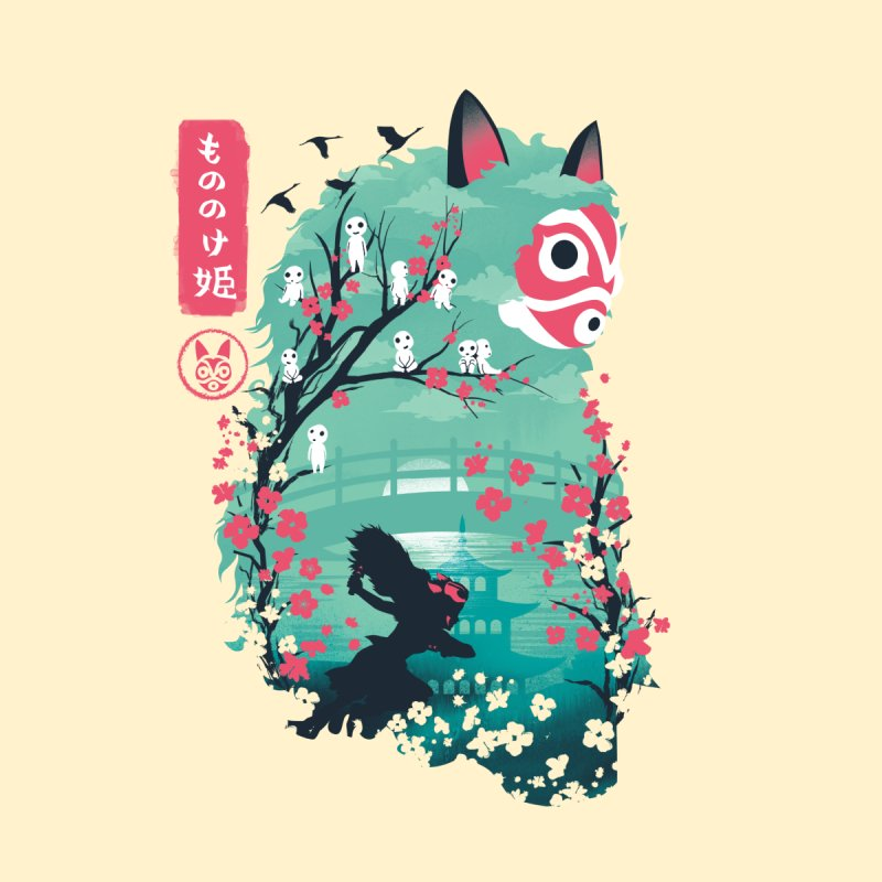Ukiyo e Princess Kids Toddler Longsleeve T-Shirt by dandingeroz's Artist Shop