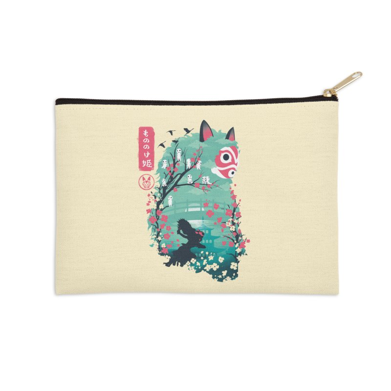 Ukiyo e Princess Accessories Zip Pouch by dandingeroz's Artist Shop