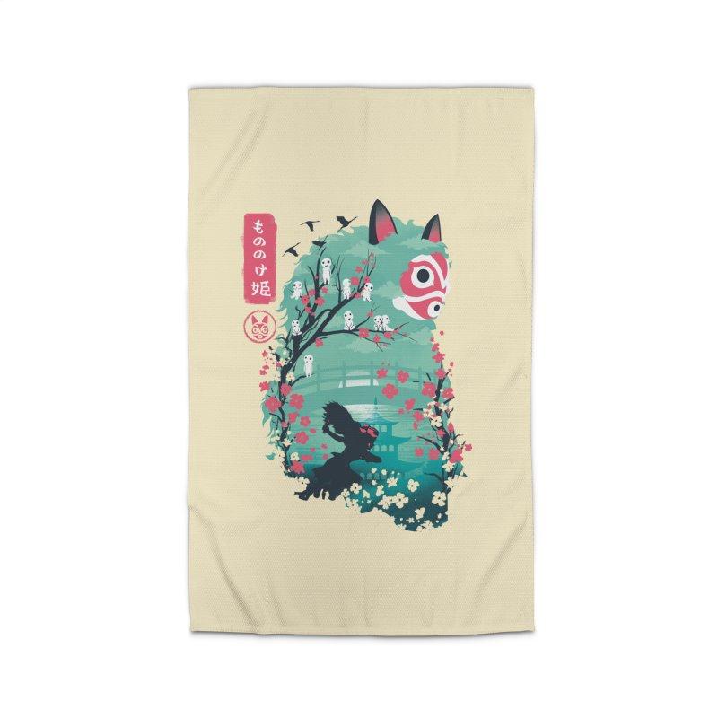 Ukiyo e Princess Home Rug by dandingeroz's Artist Shop