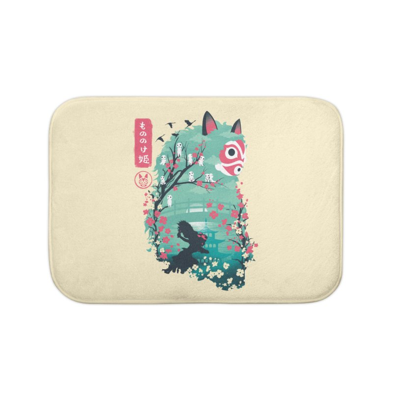 Ukiyo e Princess Home Bath Mat by dandingeroz's Artist Shop