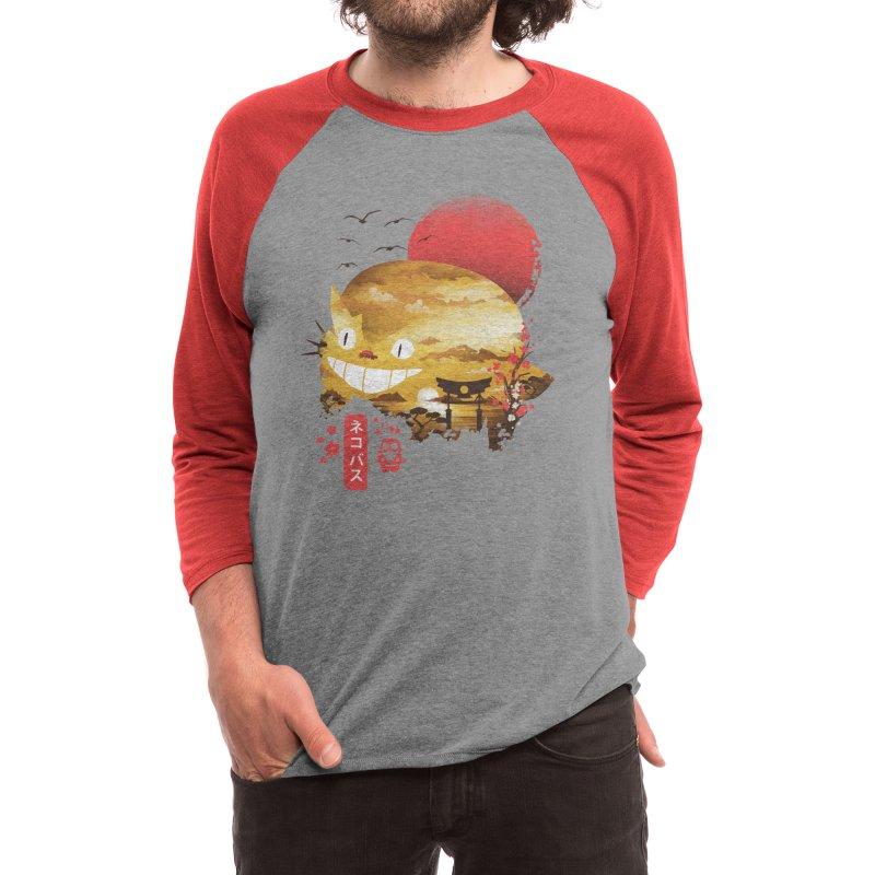 Ukiyo e Cat Men's Longsleeve T-Shirt by dandingeroz's Artist Shop
