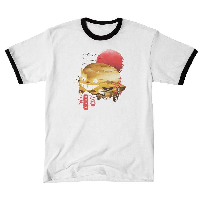 Ukiyo e Cat Women's T-Shirt by dandingeroz's Artist Shop