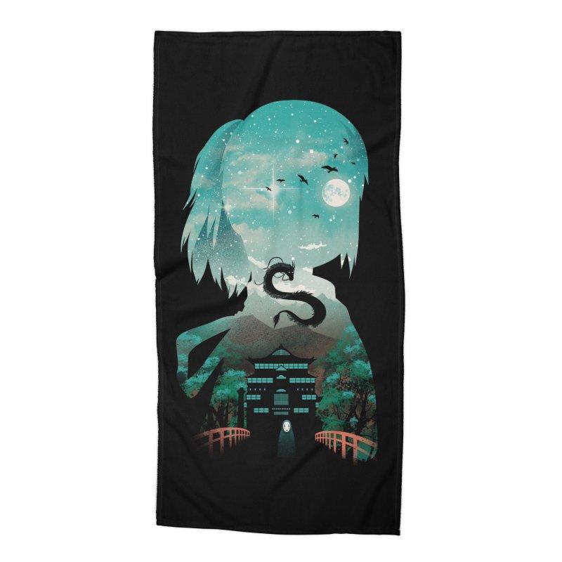 River Flows In You Accessories Beach Towel by dandingeroz's Artist Shop
