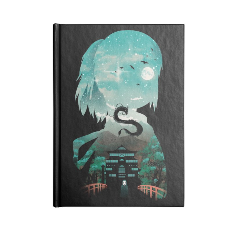 River Flows In You Accessories Notebook by dandingeroz's Artist Shop
