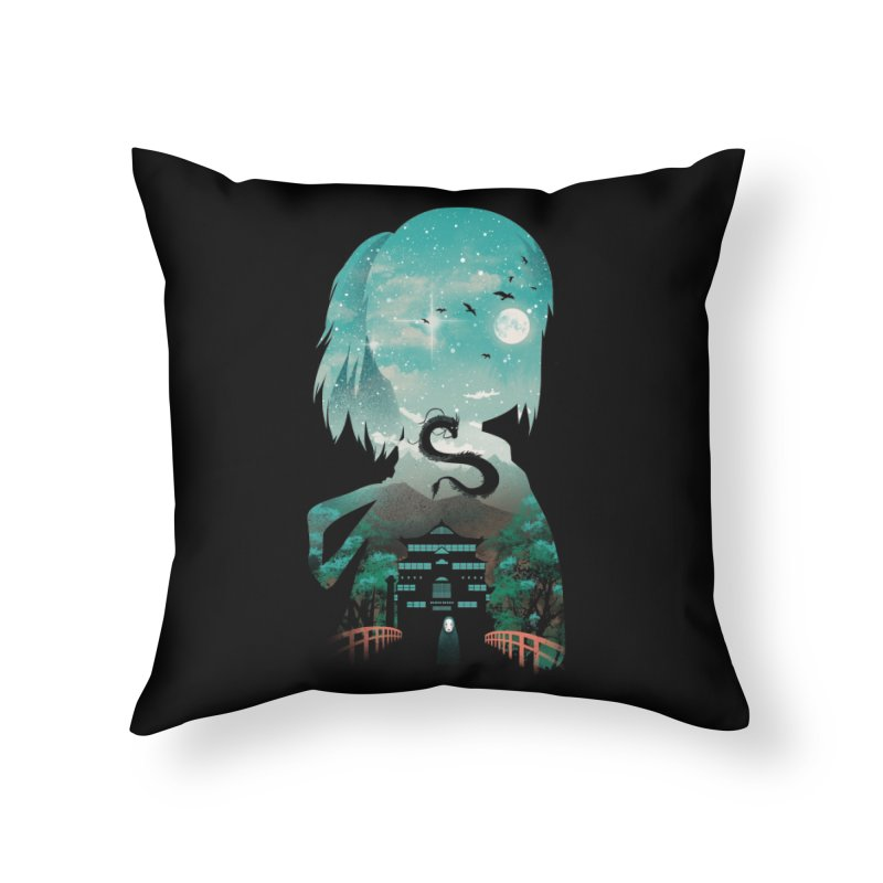 River Flows In You Home Throw Pillow by dandingeroz's Artist Shop