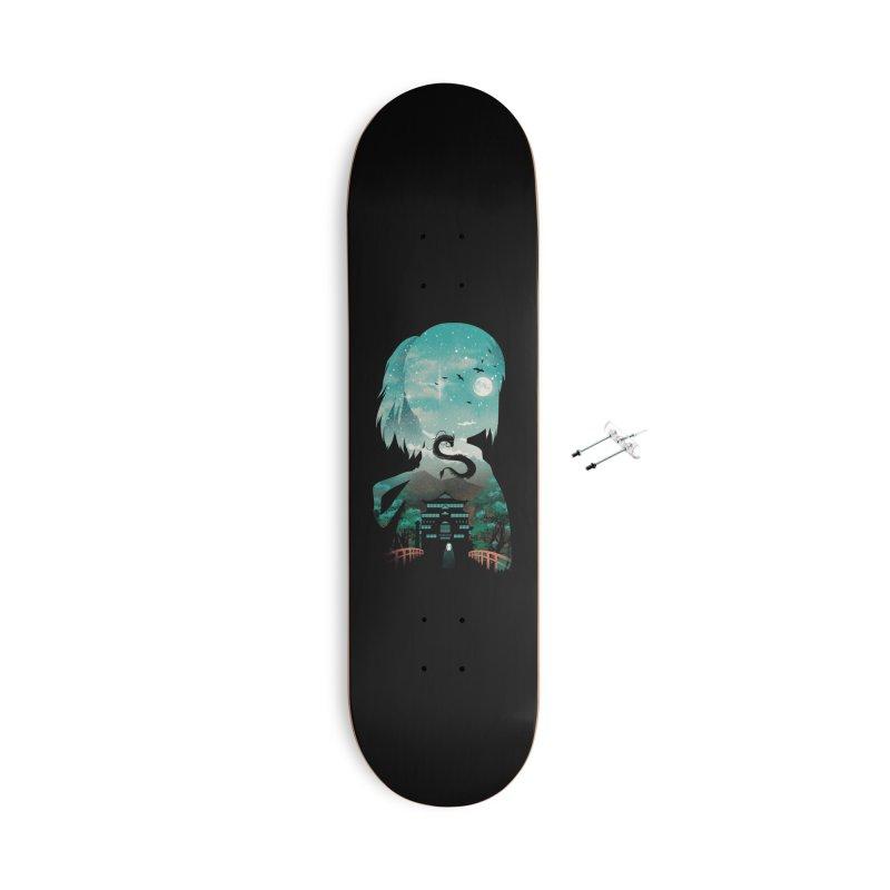 River Flows In You Accessories Skateboard by dandingeroz's Artist Shop