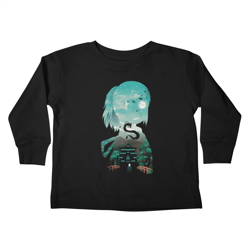 River Flows In You Kids Toddler Longsleeve T-Shirt by dandingeroz's Artist Shop
