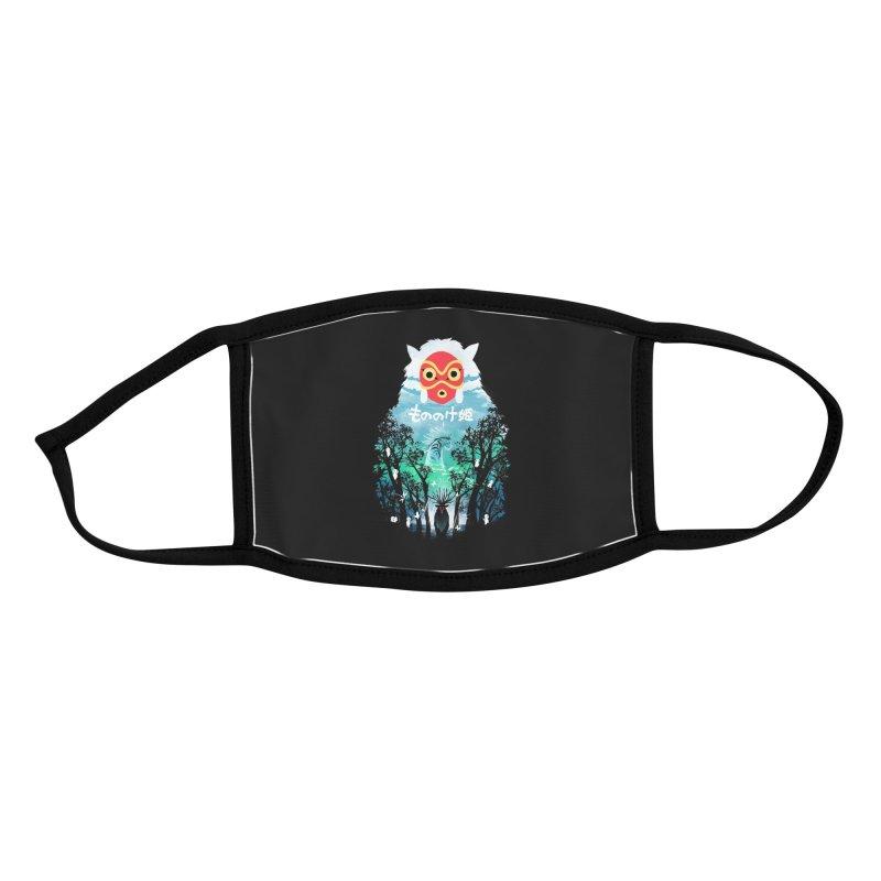 Forest Spirit Accessories Face Mask by dandingeroz's Artist Shop