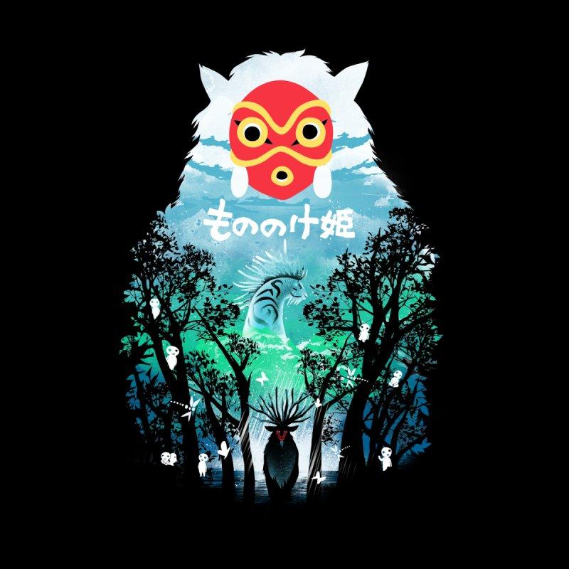 Forest Spirit Kids Toddler Longsleeve T-Shirt by dandingeroz's Artist Shop