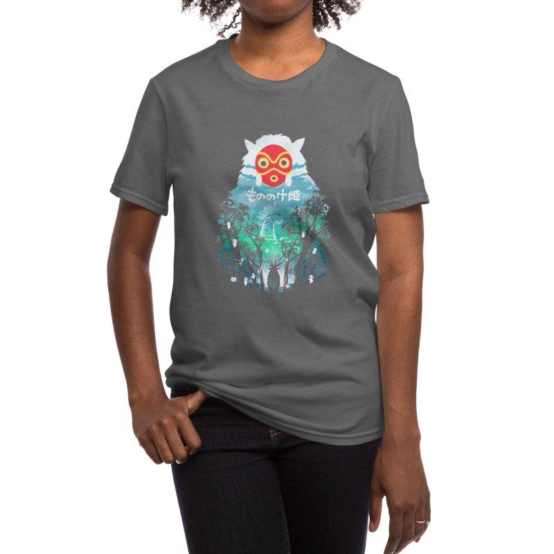 Forest Spirit Women's T-Shirt by dandingeroz's Artist Shop